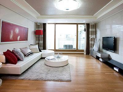 客厅中央空调安装效果图